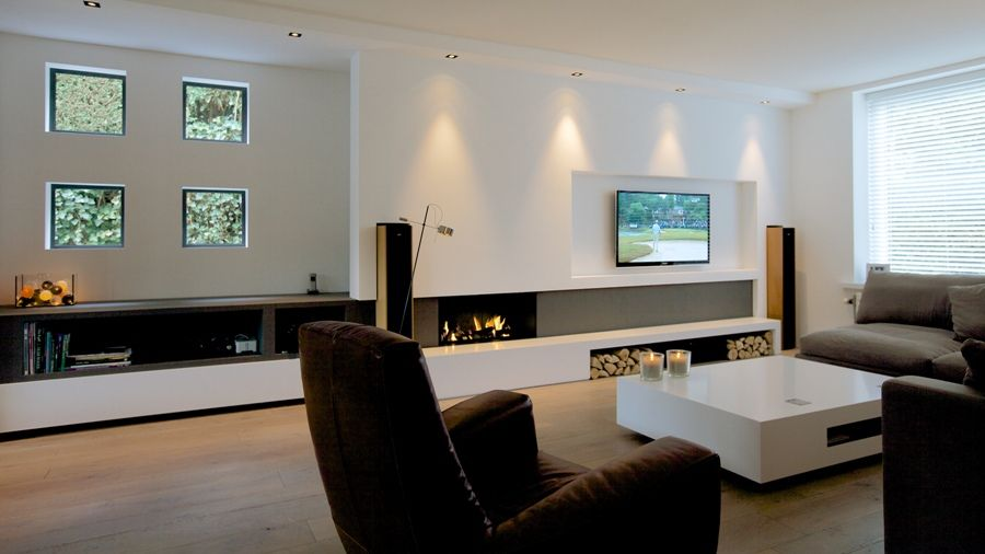 Audio-video wand - Antonissen Interieurbouw Breda, Interieur op maat ...