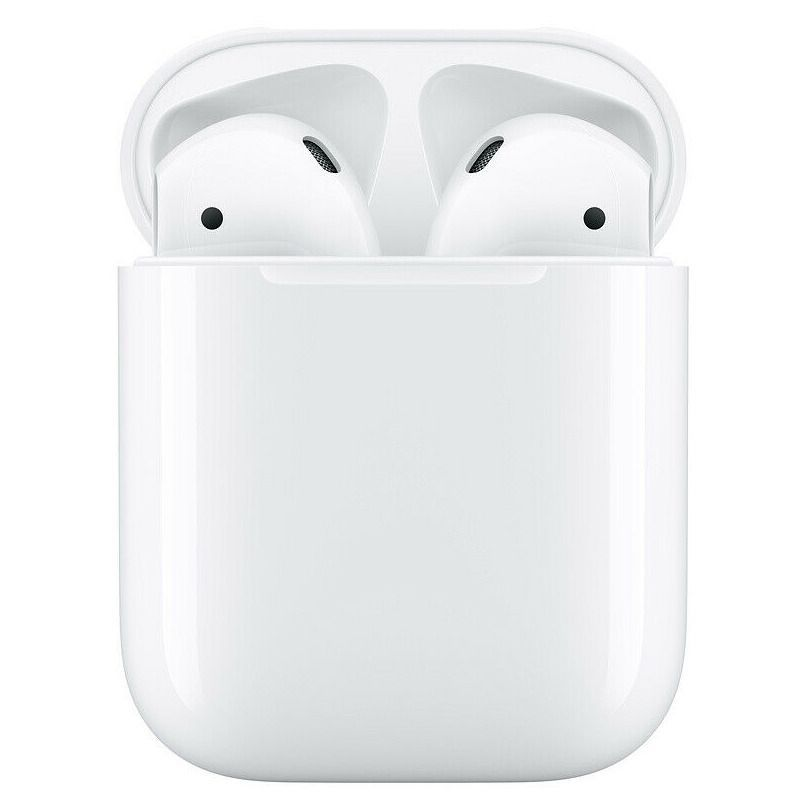Genuine Apple Airpods White 2nd Generation Mv7n2am A W Wired Charging Case Ebay Apple Airpods 2 Buy Apple Black Headphones