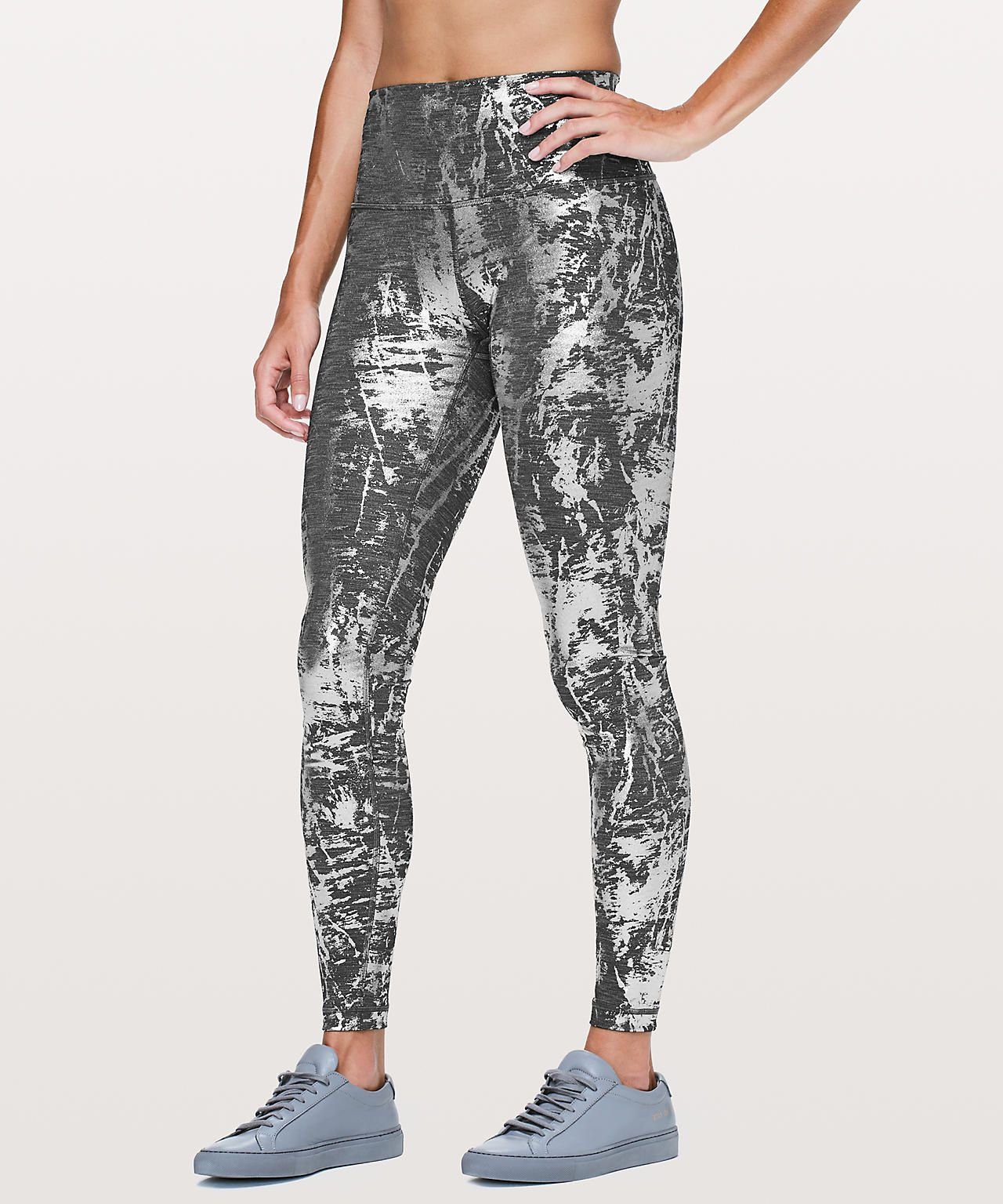 2099d8c2530 ... leggings and tights the entire winter… gifts for her yoga pants.  Crinkle Heather Brindle High Shine Foil
