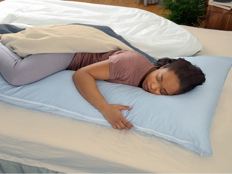 Natural Latex Bed Wedge Support Pillow