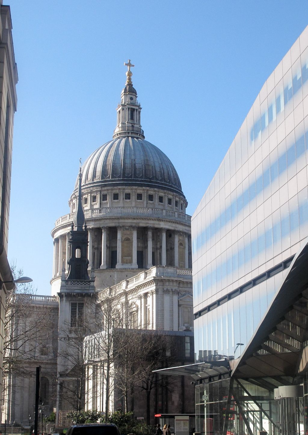 St Paul S From Bread Street Watling Street Junction