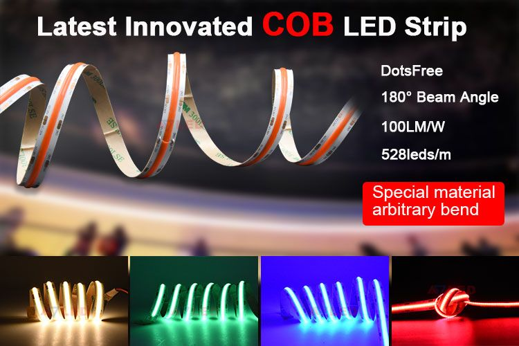 528led M High Lumen Cob Led Strip Light Led Strip Led Strip Lighting Rgbw Led Strip
