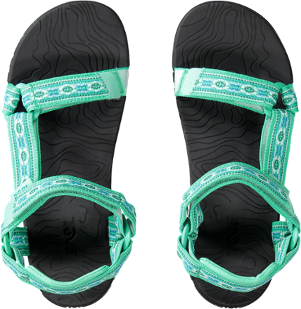7cbae2235 Thumbnail of Teva Hurricane 3 Sandals - Kids  Top view (Monterey Florida  Keys)