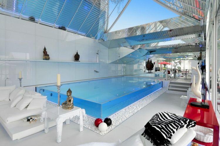Piscinas de fibra de vidrio - los 25 diseños más modernos - Hotel