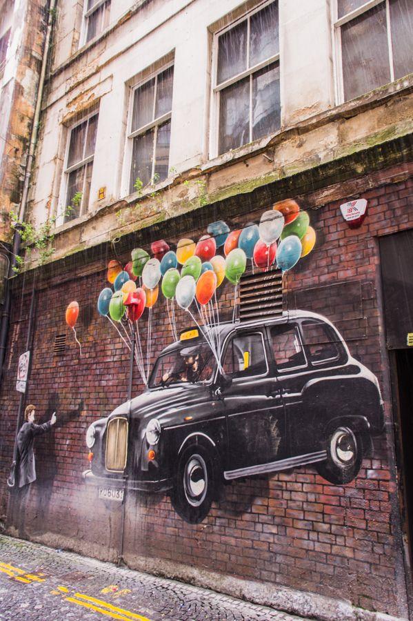 Glasgow artists and their best street art murals street for Best mural artist