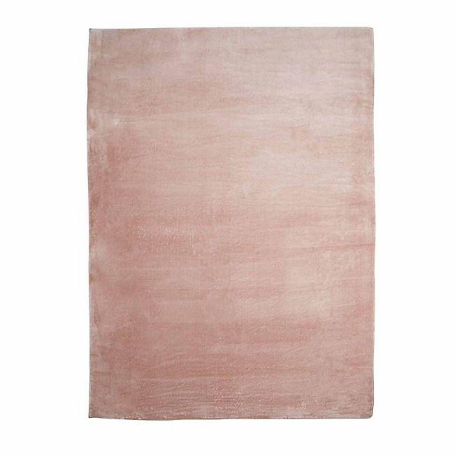 rubico tapis imitation fourrure 160x230cm rose poudr pop up salon rose textiles store - Tapis Rose Poudre