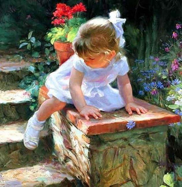Children paintings by Vladimir Volegov  (15)