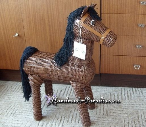 pferd aus papierrollen basteln, die pferde sind gute tiere und es ist unglaublich, aber man kann den, Design ideen