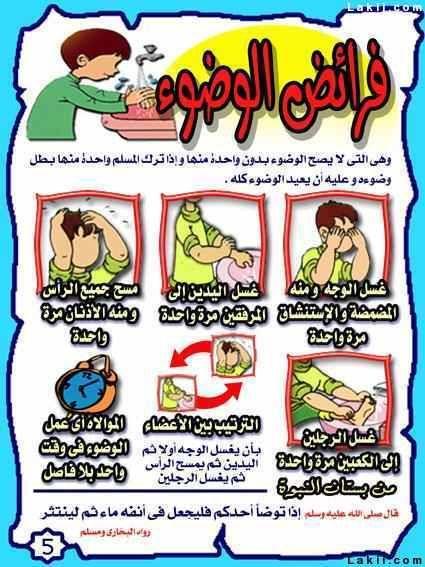 Jawaherpearl Kids بطاقات عن الوضوء بطاقات تعليمية للوضوء لصغار Arabic Kids Islam For Kids Islam Facts
