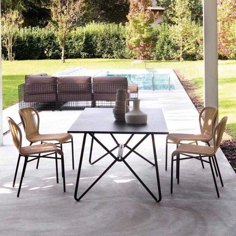 Varaschin Boavista Gartentisch 160 cm mit Aluminium- bzw. HPL Tischplatte