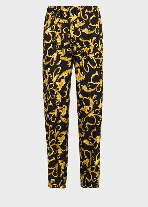 449d5e6730 VERSACE Classic Baroque Silk Pyjama Pants. #versace #cloth ...