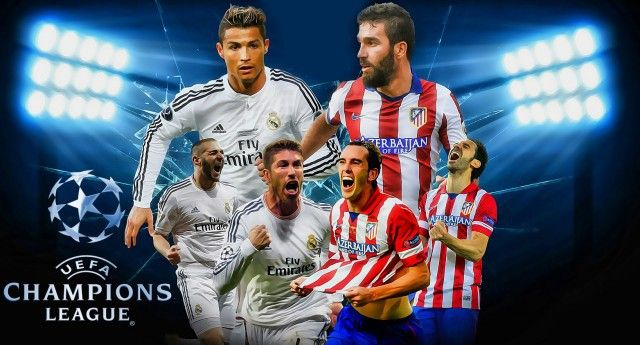 2016 Champions League Final Real Madrid Vs Atletico Madrid Atletico Madrid Madrid Derby Real Madrid