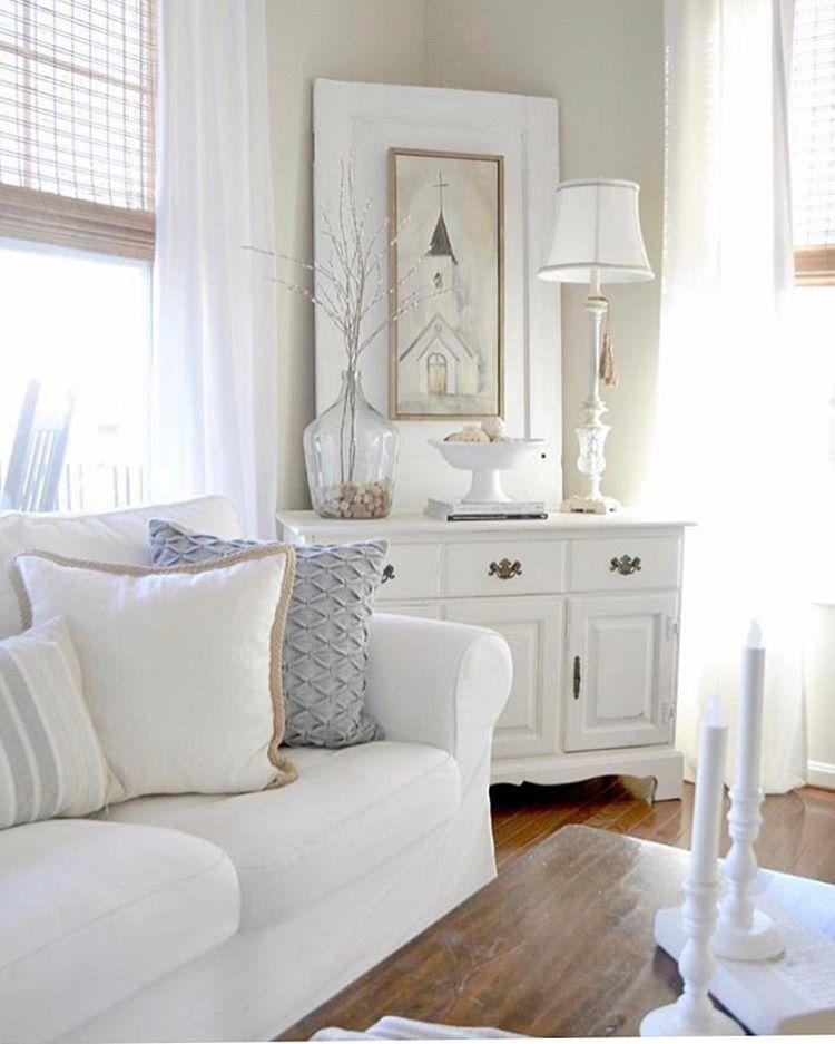white!   Living room ideas   Pinterest   Decoración costera ...