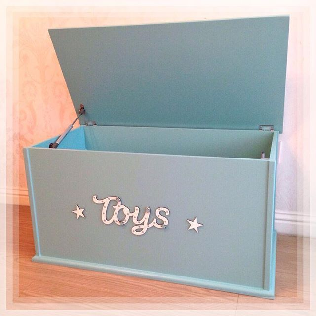 Mr Toy Box Goes National This Stunning Teal Box Is Off To Its New Home In Milton Keynes Tomorrow Toybox Toystorage Chi Toy Boxes Toy Trunk Kids Furniture