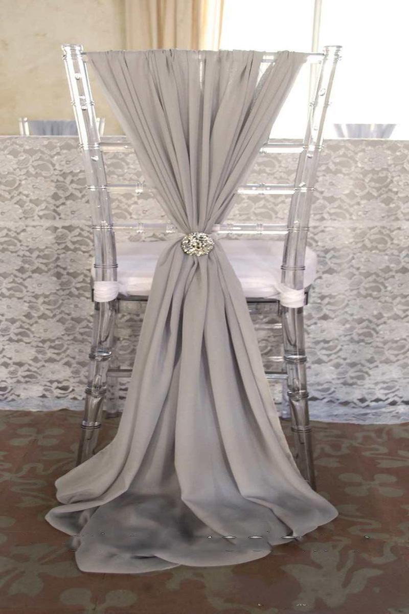 Wholesale Cheap Popular Fashion Wedding Chair Sashes Brand