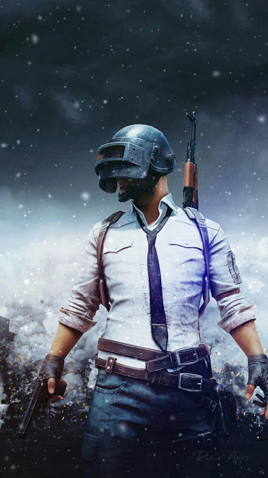 PUBG Helmet Guy Playerunknown's Battlegrounds Game