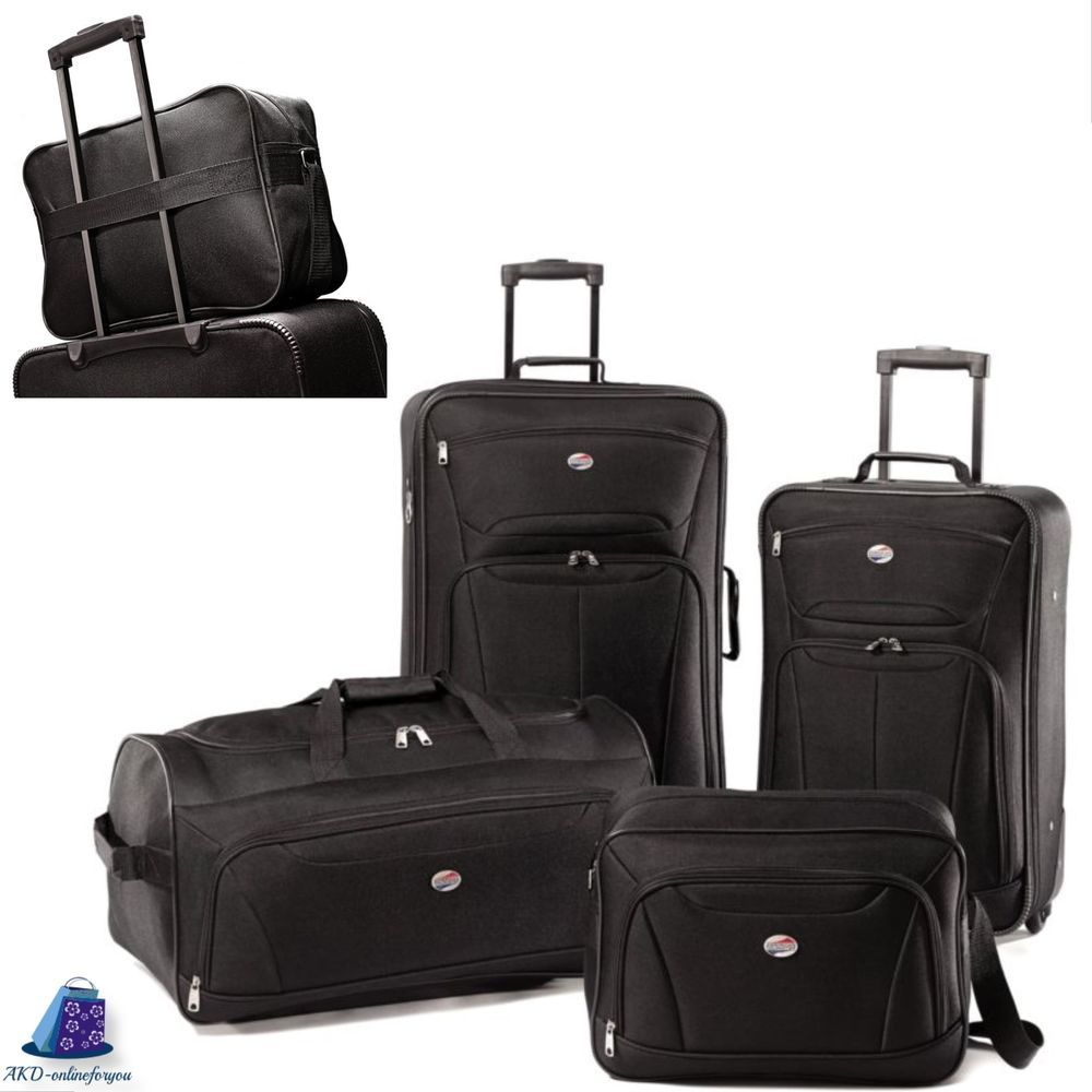 4 piece light weight luggage travel fieldbrook set 21 25 boarding body bag americantourister
