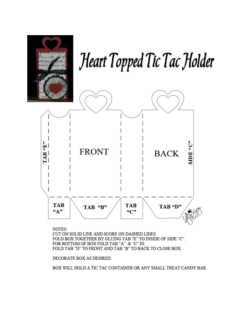 Pin On My Paper Box Templates