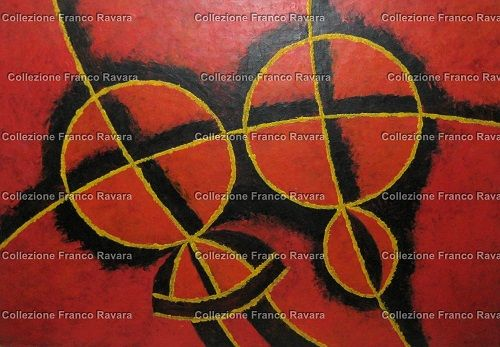 By Franco Ravara, olio su carta, 50x 40 cm., rif. Q-0126. In vendita. Per info: collezionefrancoravara@gmail.com