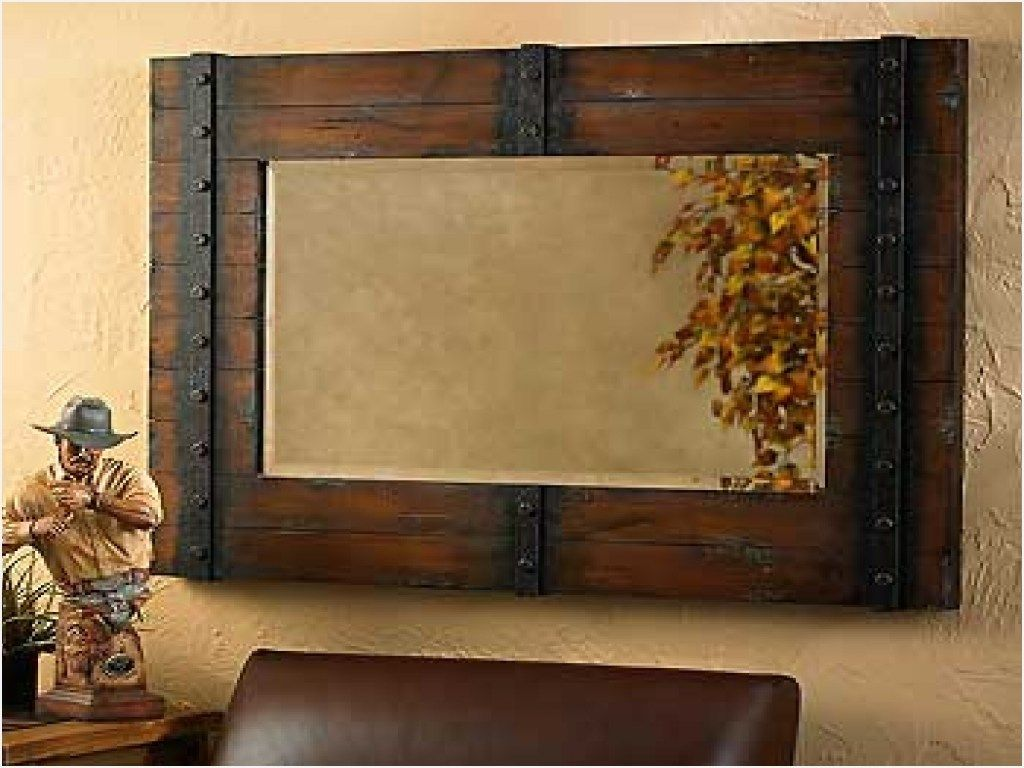 43 Stunning Rustic Bathroom Mirrors Ideas Comedecor Rustic Bathroom Mirrors Rustic Mirror Frame Rustic Wall Mirrors