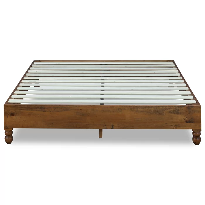 "Gallagher 1"" Platform Bed in 2020 Platform bed frame"