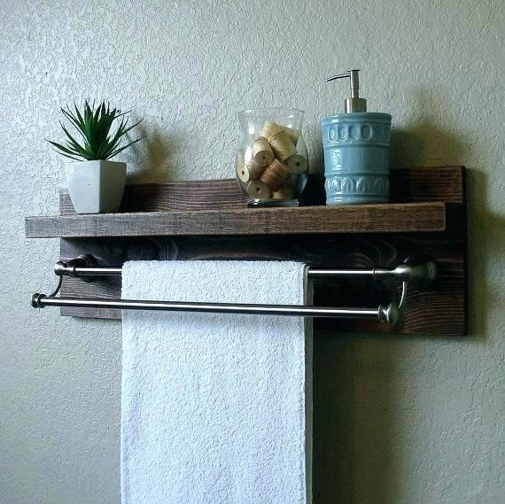 Industrial Towel Rack Industrial Towel Rack Shelf With Towel Bar