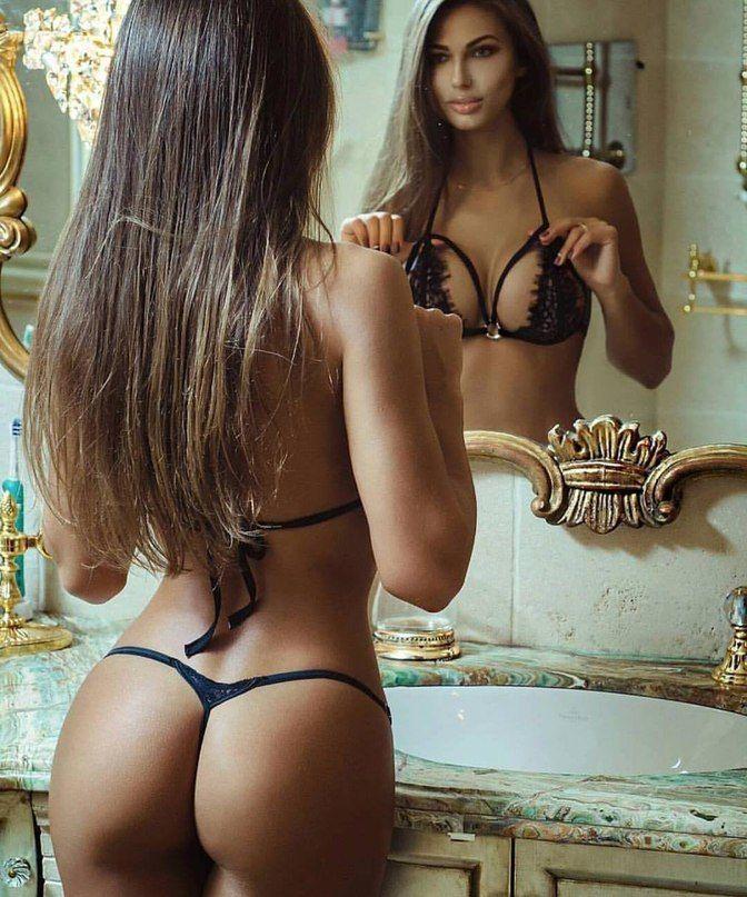 Bikini thong fitness girls