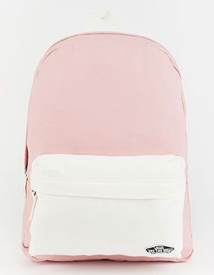 VANS 2 Tone Realm Backpack Pink | Mochilas vans, Mochilas