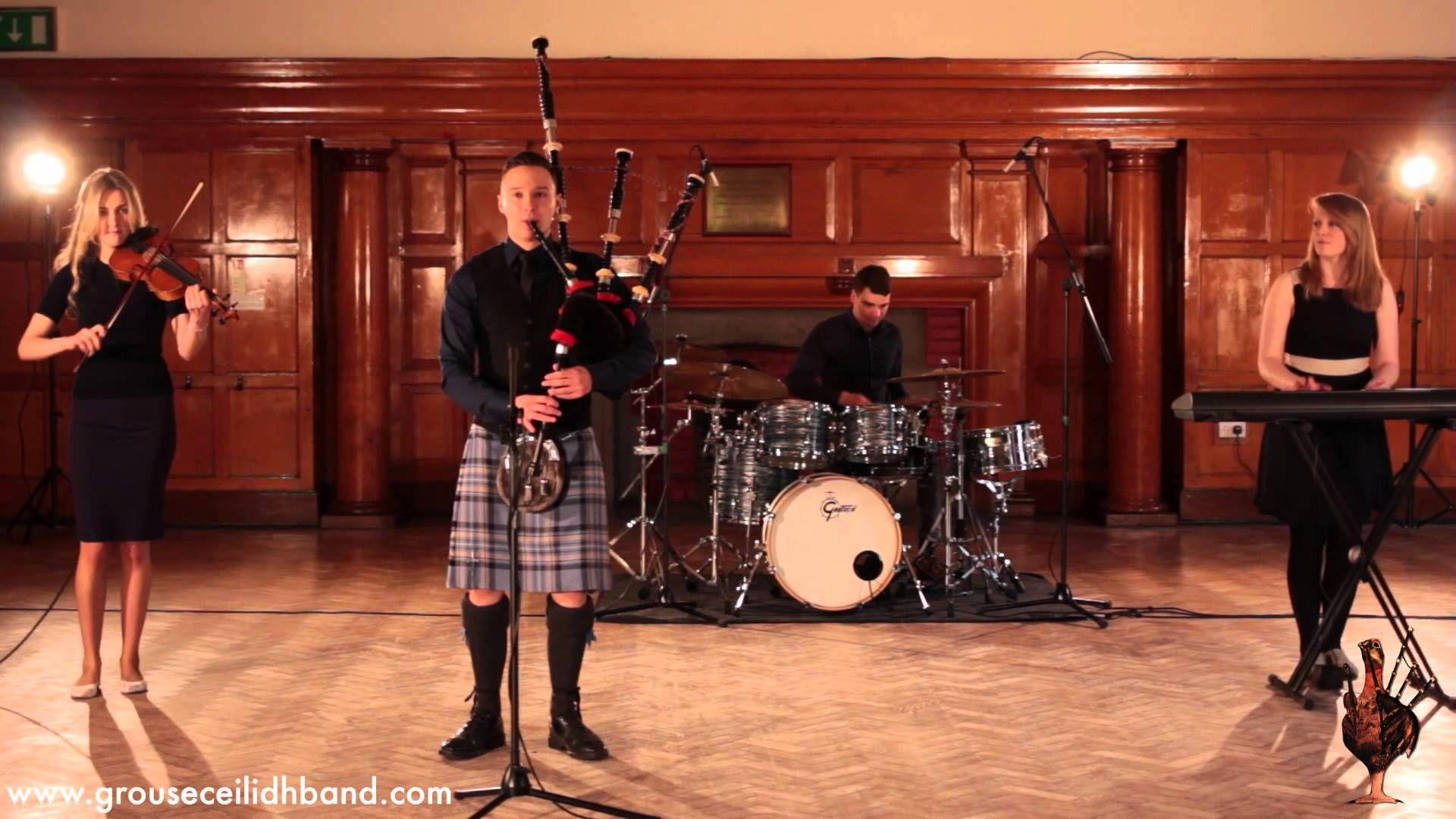 Grouse Ceilidh Band Scottish WeddingsWedding