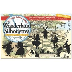 Tweety Jill Wonderland Silhouettes Rubber Stamp Collection