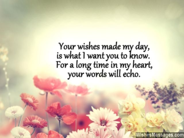 Thank You For Your Wishes Images