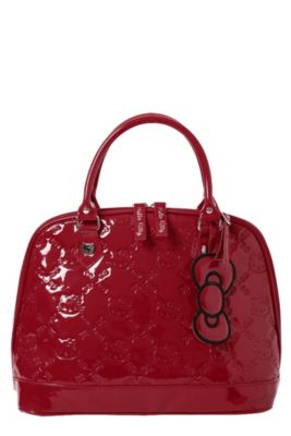 4f1e4987776e Loungefly Hello Kitty Red Dome Bag
