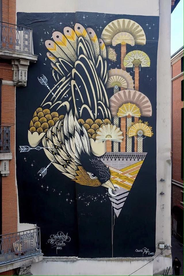 Koralie for the WOPS Festival Toulouse, France, 2015