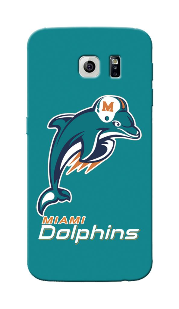 finest selection 548da 6bb76 Fully Custom Made Samsung Galaxy S6 case for NFL Miami Dolphins fans ...