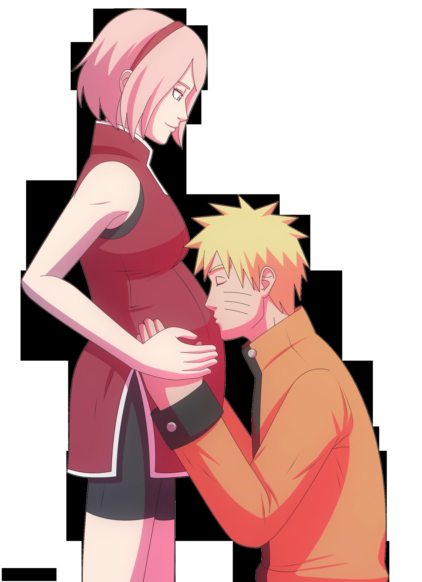 Картинки наруто и беременной сакуры