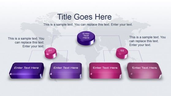 Animated Modern PowerPoint Template with 3D Shapes