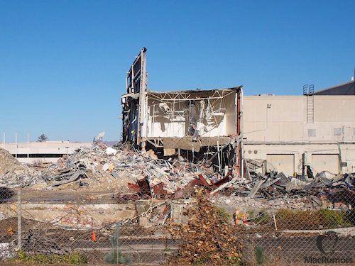 """Apple a démarré la démolition pour le projet """"Apple Campus 2"""" [Photos]"""