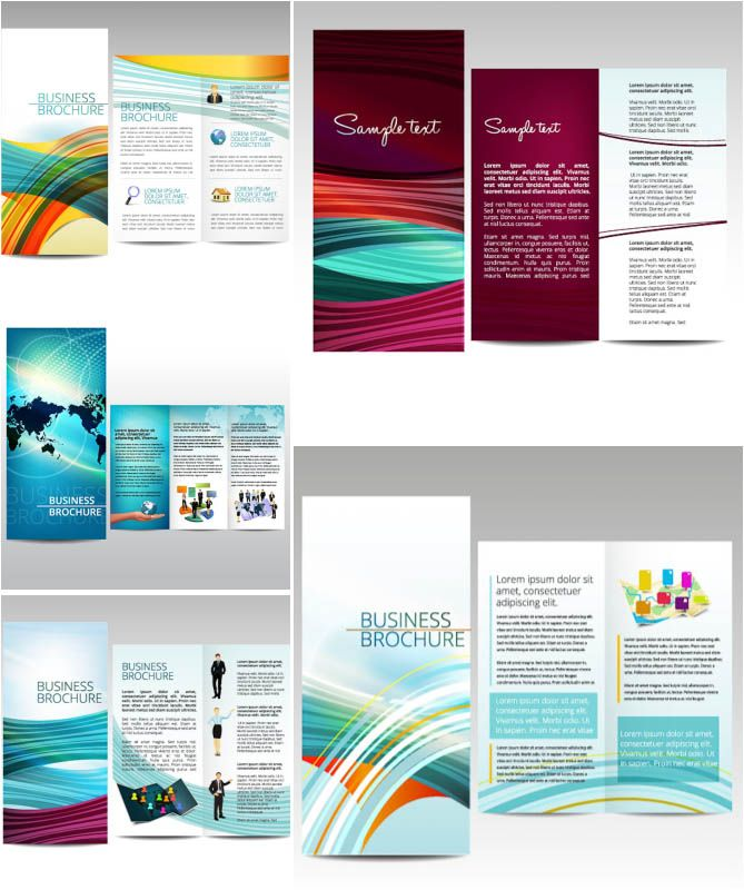 illustrator brochure templates free - Google Search graphics - business pamphlet templates free