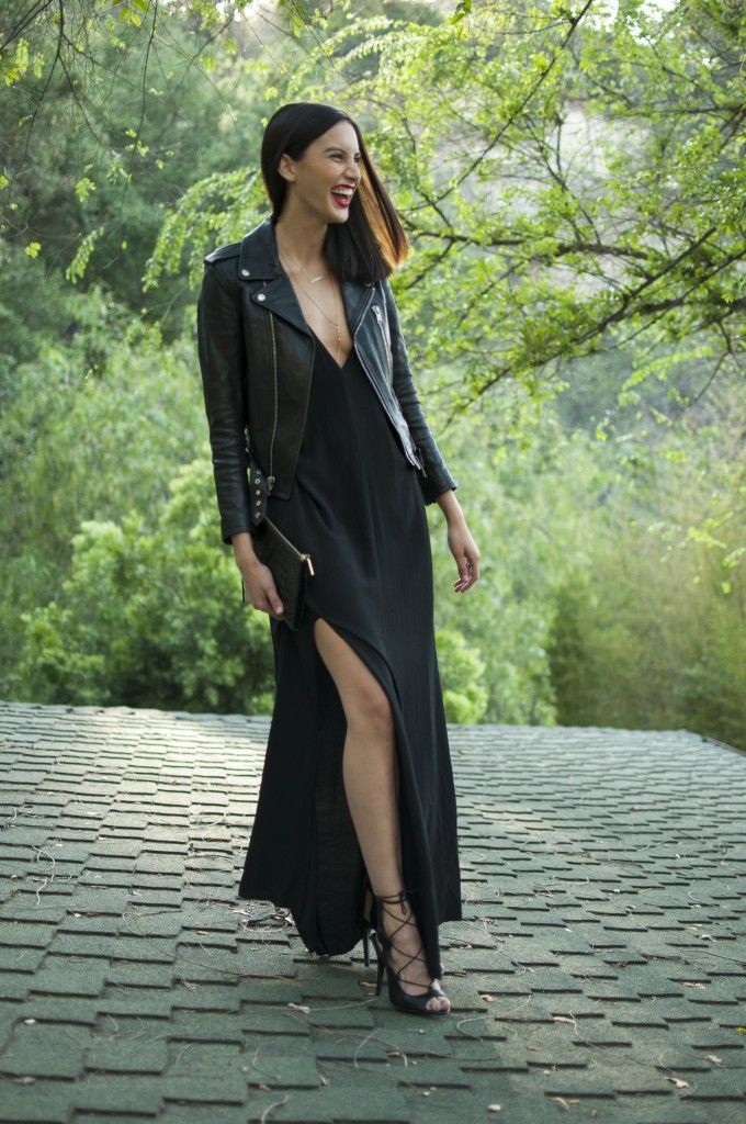 Rock 'n' Roll Style ✯ Same Taste Different Style: The Black Slip Dress  