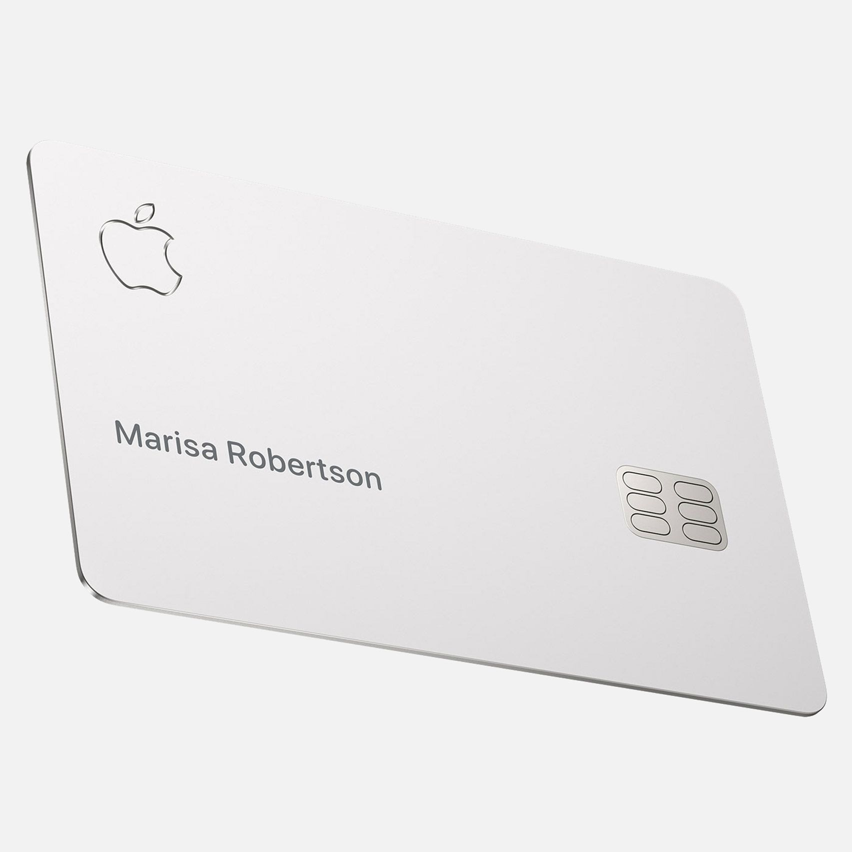 Apple credit card must be stored in a bag made from soft