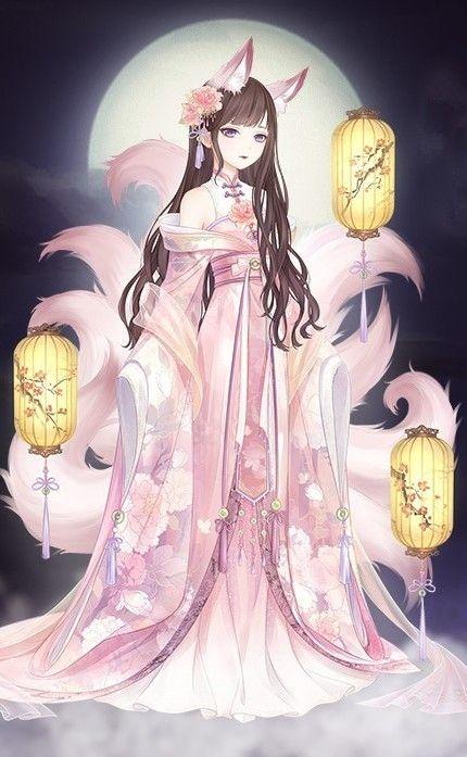 Bộ Hồ ly Ánh trăng - Hướng Dẫn Sự Kiện Biển Sao game Ngôi sao thời trang  360mobi
