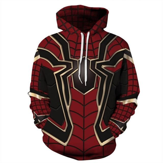felpa nike spiderman