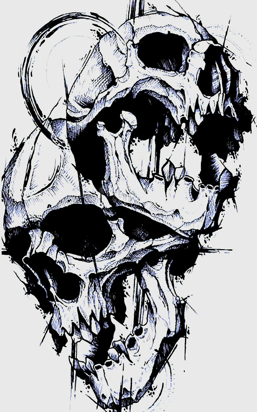 Pin By Onni Star On Tattoo Designs In 2020 Skull Art Skull Tattoo Design Tattoo Drawings