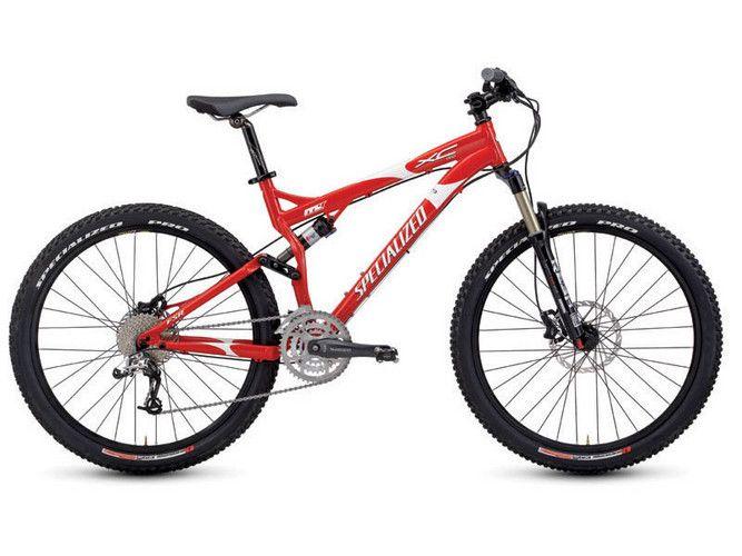 Full Suspension Xc Trail Bike 2007 Specialized Fsr Xc Pro