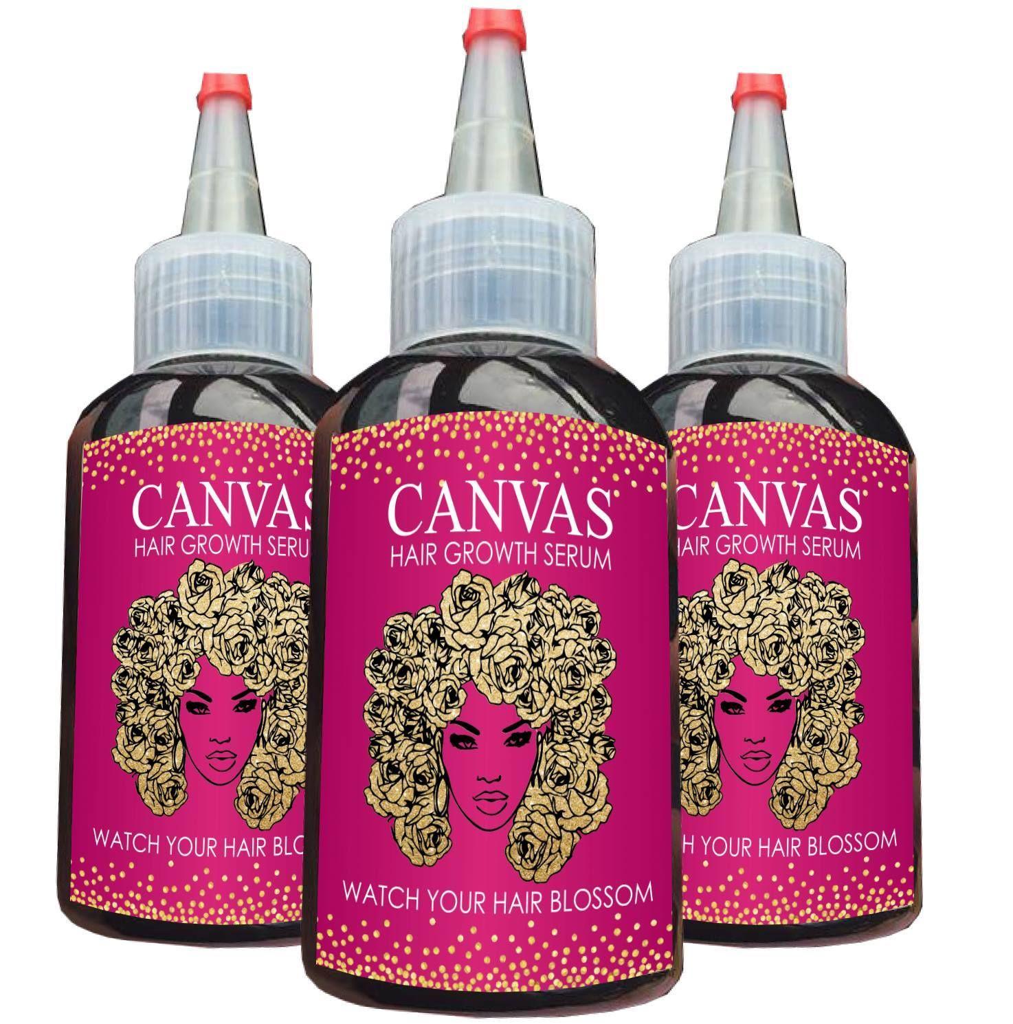 Canvas hair blossom serum in 2020 Hair serum, Serum