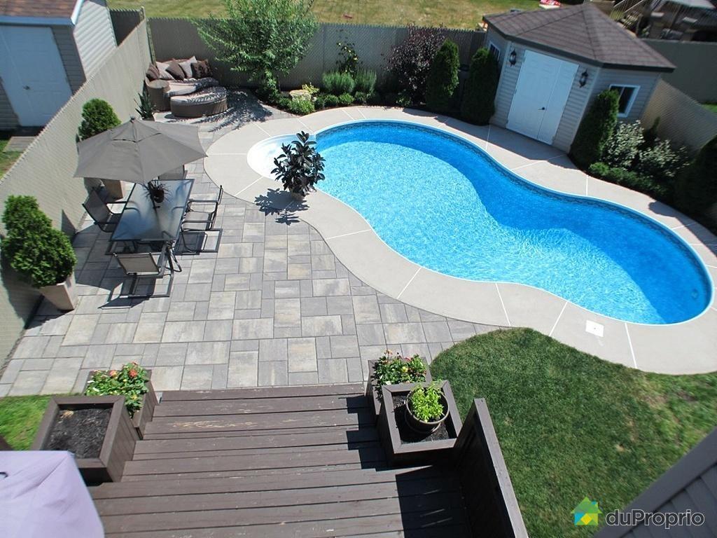 cour arrière de rêve à voir à fabreville #duproprio | cool pools