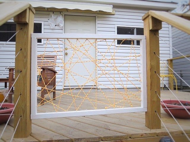 how to diy a puppy gate or how i built a swinging yet removable - Puppy Gates