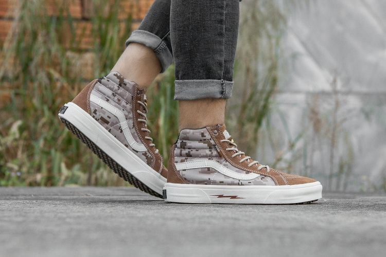 eb81a4128a Vans Syndicate SK8 Hi Defcon series of high-help military camouflage  nuclear war crisis code number 36-44 Model  vn-0126  Vans