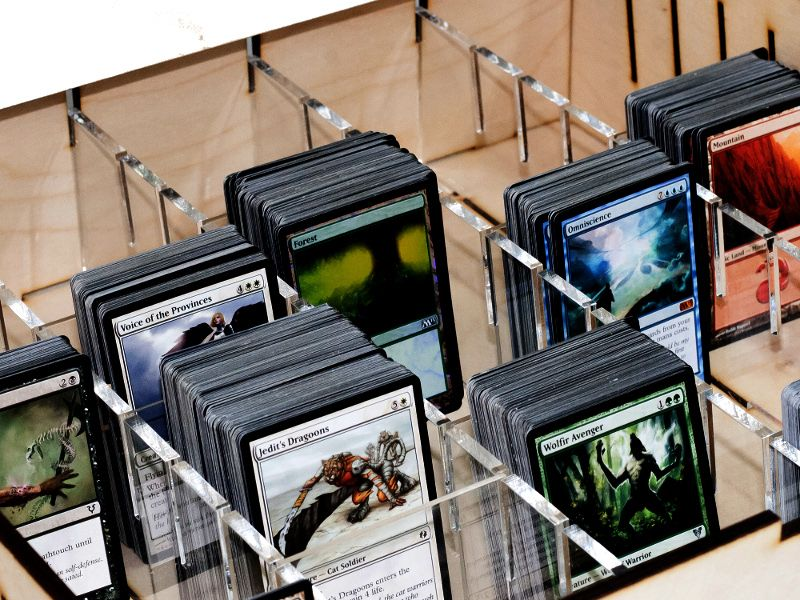 E Raptor Trading Card Storage Big Box Wooden Trading Card Storage Card Storage Trading Card Storage Boxes