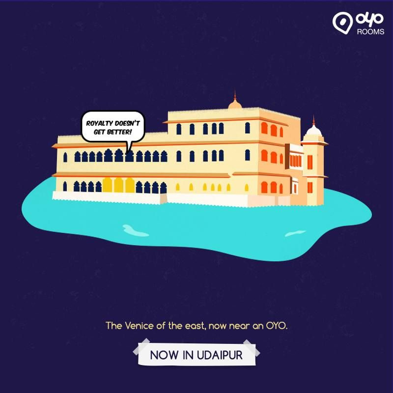 #BudgetHotel OYO Rooms now in #Udaipur